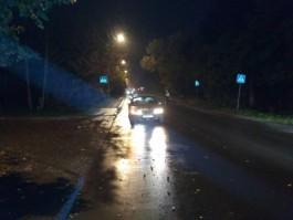 На улице Дзержинского в Калининграде «Мерседес» насмерть сбил пенсионерку на переходе