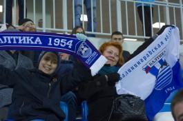 «Балтика» одержала победу в последнем матче 2020 года