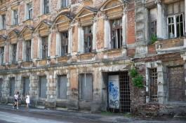 Гольдман: В ноябре должны поступить деньги на восстановление здания янтарной мануфактуры