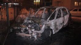 УМВД: «Ситроен» на ул. Батальной загорелся во время парковки