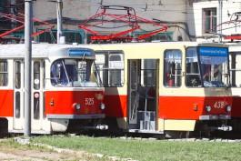 На время ремонта улицы Киевской в Калининграде трамваи будут «ночевать» на конечных остановках