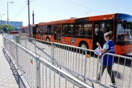 В день чемпионата фейерверков общественный транспорт Калининграда будет ездить до часу ночи