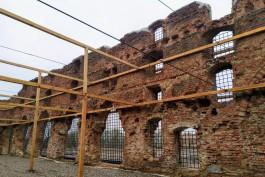 «Средневековье без Хэллоуина»: в Калининградской области завершили консервацию замка Бранденбург XIII века