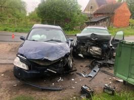 Под Гвардейском в результате аварии пострадали трое несовершеннолетних