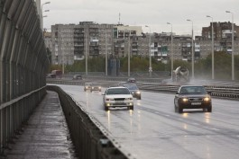 В Калининграде открыли съезды со Второй эстакады