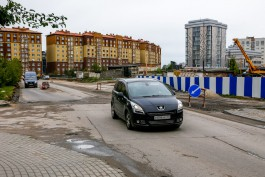 На улице Артиллерийской в Калининграде изымают участок под строительство Восточной эстакады