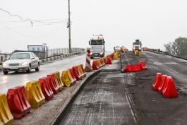 «Недолго осталось»: как разбирают мост на Московском проспекте в Калининграде