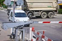 Два ж/д переезда под Калининградом оборудовали камерами фиксации нарушений ПДД
