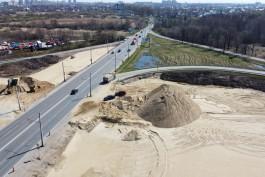 «Круги песка»: в Калининграде началась реконструкция дорожной развязки на Советском проспекте