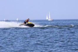 В Зеленоградском округе за день трёх человек унесло в море на надувных матрасах