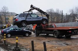 В Калининграде стоянку для эвакуированных машин перенесли на Портовую