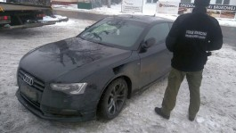 Польские пограничники задержали двоих россиян на краденом автомобиле