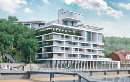 «Стекло на променаде»: в Калининграде представили проект гостиницы на месте старого лифта в Светлогорске