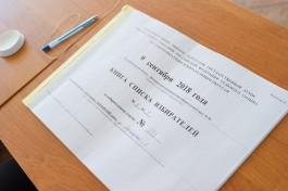 Облизбирком отменил результаты довыборов в Госдуму по Мамоновскому округу