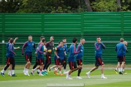 «Мирная фурия»: сборная Испании провела тренировку в Калининграде
