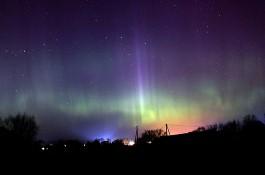 Астроном: Из-за мощных вспышек на Солнце в Калининграде ожидается северное сияние