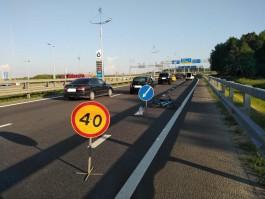 На Приморском кольце «Шкода» сбила 25-летнюю велосипедистку