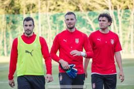 Футболисты сербской сборной болели за Россию в Светлогорске