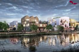 «Экодома, высотки и виллы»: какое жильё планируют построить на острове Октябрьском в Калининграде