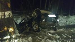 В Полесском округе в ДТП погиб 33-летний мужчина