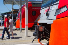 В понедельник и вторник из Калининграда пустят дополнительный поезд в Зеленоградск