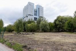 «Для передачи инвестору»: возле Дома Советов в Калининграде начали археологические раскопки