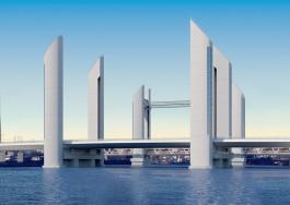 «Башни над Преголей»: чем заменят двухъярусный мост в Калининграде