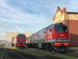 Калининградская железная дорога получила новый мощный локомотив