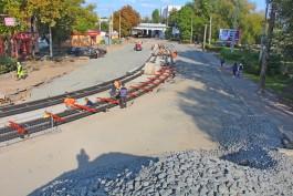 На улице Киевской в Калининграде в начале октября начнут строить тротуар