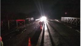 В Полесске лишённый прав водитель упал на автомобиле с моста