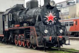 «Прокатился до Советска»: в Калининград привезли ретропаровоз для экскурсий