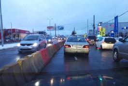 «Минус три полосы»: на Московском проспекте снова изменили схему движения