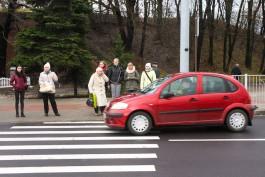 За сутки в области сбили четверых пешеходов