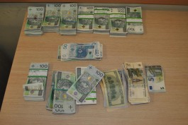 Польская таможня оштрафовала калининградца за попытку перевезти крупную сумму наличными