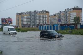 «Чуть не утонули»: как Калининград пережил шторм и потоп