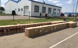 Калининградские пограничники задержали фуру с 705 тысячами пачек контрабандных сигарет