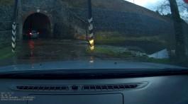 В Светлогорске подтопило тоннель под железной дорогой