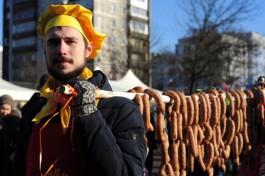 «Ворота, средневековый рецепт и платный вход»: Праздник длинной колбасы в Калининграде поменяет формат