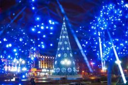 Власти рассказали, когда начнут устанавливать новогоднюю ёлку на площади Победы