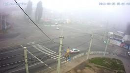 На ул. Фрунзе водитель «Тойоты» врезался в «Хёндай» и уехал с места ДТП
