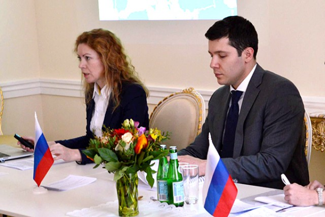 Антон Алиханов представил Калининград германскому бизнесу