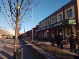 Полицейские оцепили часть пешеходной улицы Баранова в Калининграде