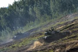На учениях «Запад-2017» задействовали новейшую версию танков Т-72БЗ
