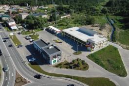В Зеленоградске построили двухуровневую парковку на 150 машин