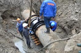 В понедельник из-за ремонтных работ отключат воду в микрорайоне в конце проспекта Победы
