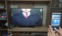 Калининградский телеканал показал новогоднее поздравление Путина, «обрезав» ему часть головы (обновлено)