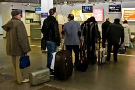 Аэропорт «Храброво» увеличит время для регистрации на рейсы