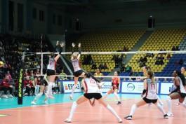 Калининградские волейболистки проиграли первый матч полуфинала чемпионата России