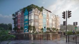 «Стеклянно-ганзейский молл»: в Гурьевске хотят построить торговый центр с растущими на крыше деревьями