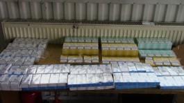 В Багратионовске таможенники задержали две крупные партии контрабандных сигарет